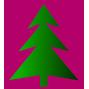 Weihnachtsbaumsammlung an den Glas-Iglu-Behältern